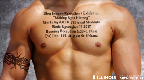 Blog luanch reception poster